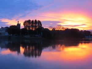 Sunrise -Chalons - sur - Saone