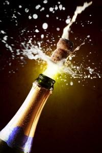 champane bottle
